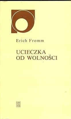 Okładka książki Ucieczka od wolności