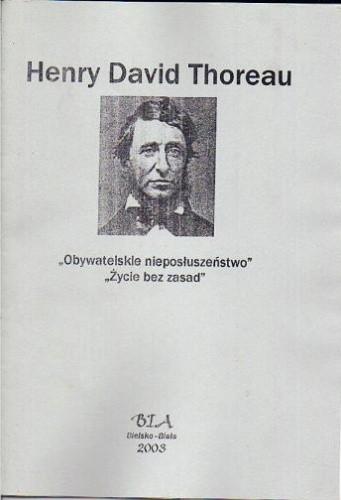 Okładka książki Obywatelskie nieposłuszeństwo