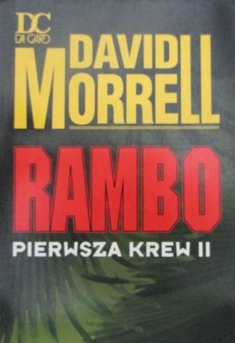 Okładka książki Rambo pierwsza krew II