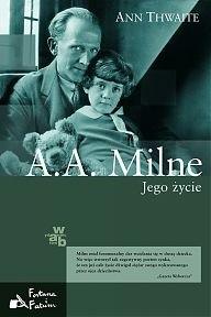 Okładka książki A.A. Milne. Jego życie