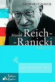 Okładka książki Marcel Reich-Ranicki. Polskie lata