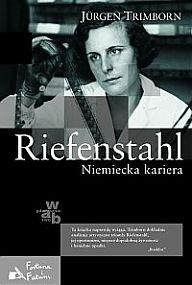 Okładka książki Riefenstahl. Niemiecka kariera