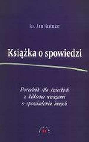 Okładka książki Książka o spowiedzi