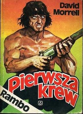 Okładka książki Rambo: pierwsza krew