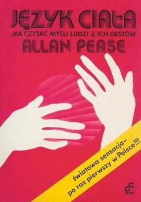 Okładka książki Język ciała. Jak czytać myśli ludzi z ich gestów
