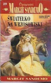Okładka książki Światełko na wrzosowisku