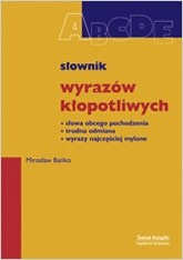Okładka książki Słownik wyrazów kłopotliwych