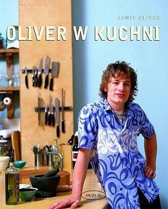 Okładka książki Oliver w kuchni
