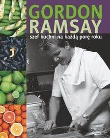 Okładka książki Szef kuchni na każdą porę roku