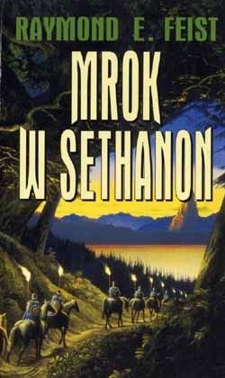 Okładka książki Mrok w Sethanon