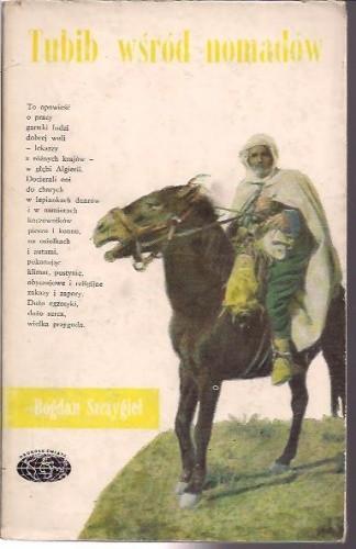 Okładka książki Tubib wśród nomadów