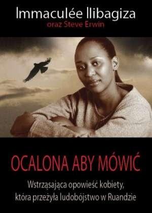 Okładka książki Ocalona aby mówić