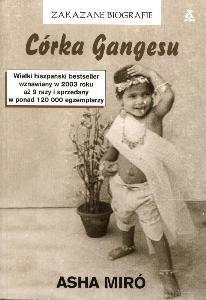 Okładka książki Córka Gangesu