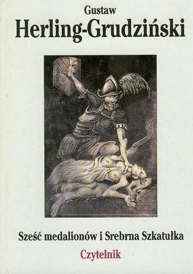 Okładka książki Sześć medalionów i Srebrna Szkatułka