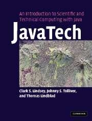 Okładka książki JavaTech, an Introduction to Scientific and Technical Computing with Java