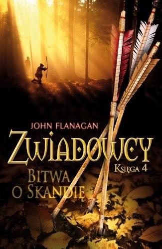 Okładka książki Zwiadowcy. Bitwa o Skandię