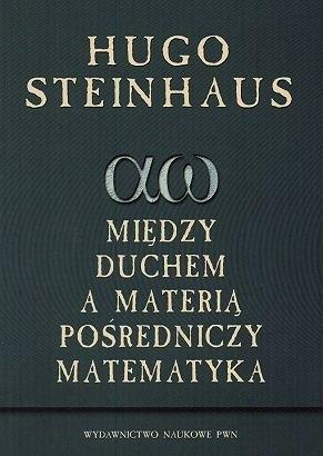 Okładka książki Między duchem a materią pośredniczy matematyka