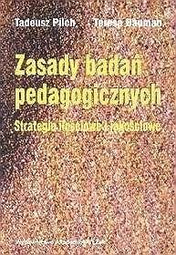 Okładka książki Zasady badań pedagogicznych. Strategie ilościowe i jakościowe