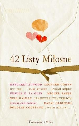 Okładka książki 42 listy miłosne