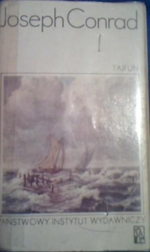 Okładka książki Tajfun i inne opowiadania