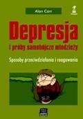 Okładka książki Depresja i próby samobójcze młodzieży. Sposoby przeciwdziałania i reagowania