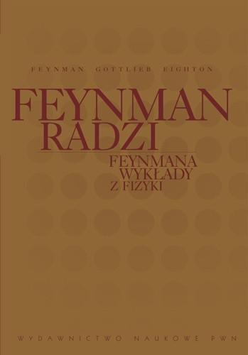 Okładka książki Feynmana wykłady z fizyki. Feynman radzi