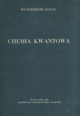 Okładka książki Chemia kwantowa