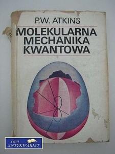 Okładka książki Molekularna mechanika kwantowa
