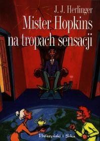 Okładka książki Mister Hopkins na tropach sensacji