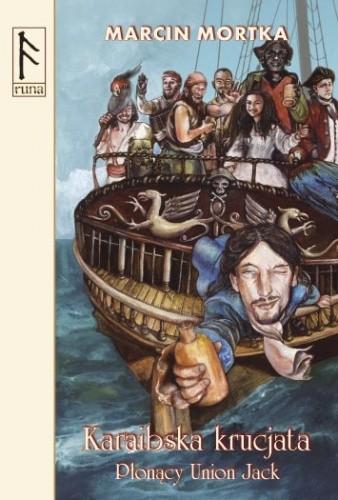 Okładka książki Karaibska krucjata. Płonący Union Jack
