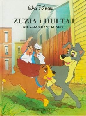 Okładka książki Zuzia i Hultaj czyli zakochany kundel