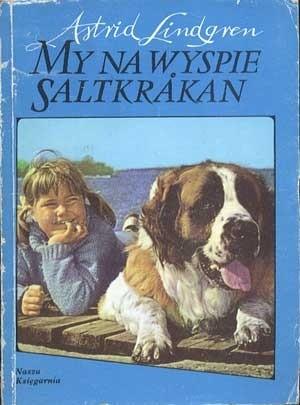 Okładka książki My na wyspie Saltkråkan