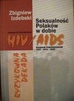 Okładka książki Ryzykowna dekada. Seksualność Polaków w dobie HIV/AIDS