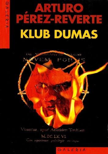 Okładka książki Klub Dumas