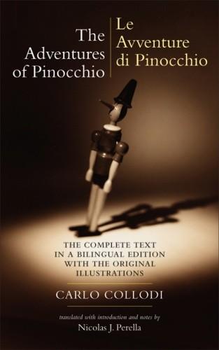 Okładka książki The Adventures of Pinocchio
