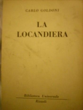 Okładka książki La locandiera