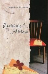 Okładka książki Dziękuję Ci, Miriam