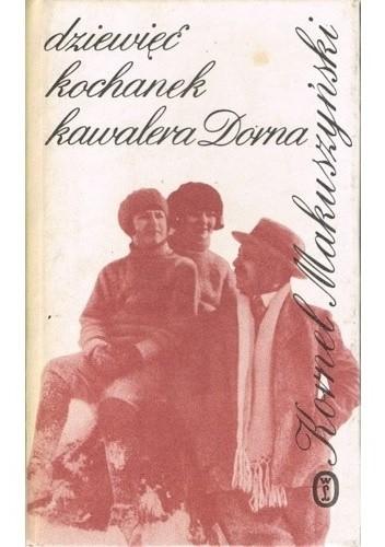 Okładka książki Dziewięć kochanek kawalera Dorna