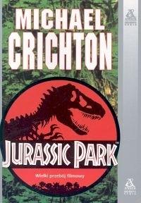Okładka książki Jurassic Park: Park Jurajski