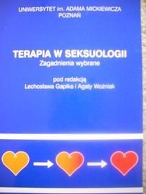 Okładka książki Terapia w seksuologii