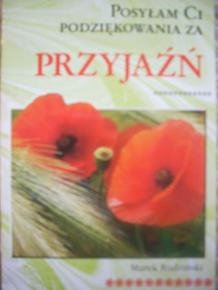 Okładka książki Posyłam Ci podziękowania za przyjaźń