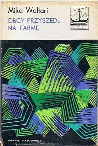 Okładka książki Obcy przyszedł na farmę