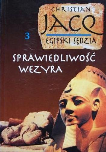 Okładka książki Egipski sędzia t3. Sprawiedliwość wezyra