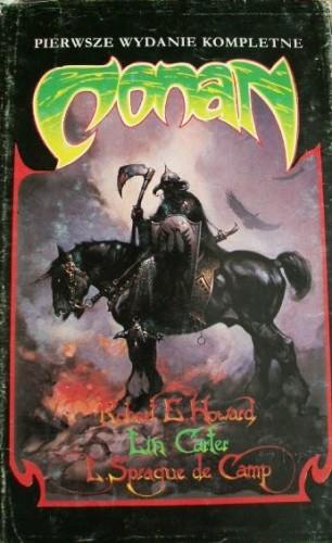 Okładka książki Conan
