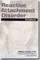 Okładka książki Reactive Attachment Disorder
