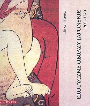 Okładka książki Erotyczne obrazy japońskie 1700-1820