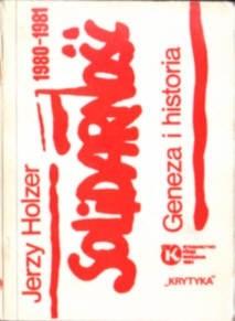 Okładka książki Solidarność 1980-1981
