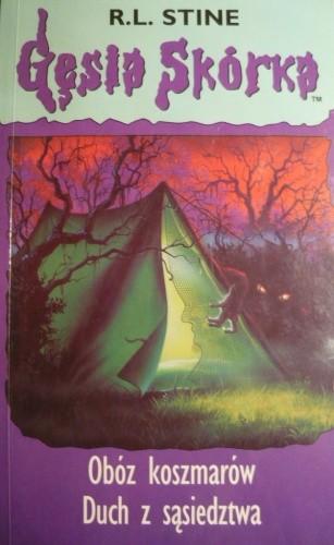 Okładka książki Obóz koszmarów. Duch z sąsiedztwa