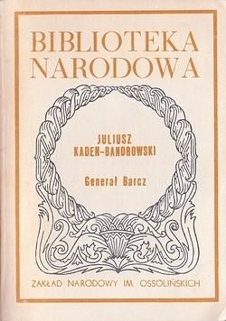 Okładka książki Generał Barcz