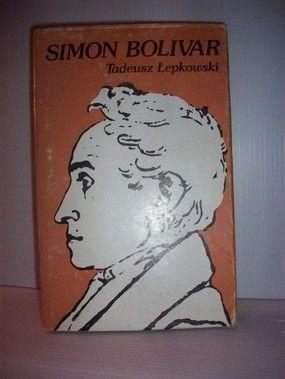 Okładka książki Simon Bolivar